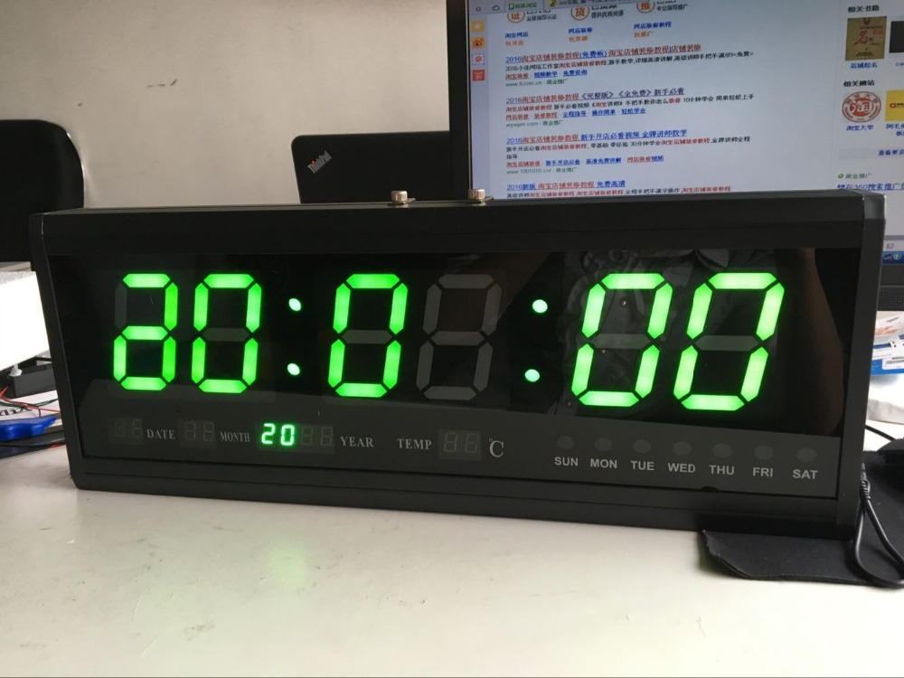 Large Digital Wall Calendar Clocks Promotion Shop For Promotional