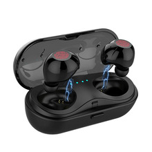 HBQ-Q18 Touch Dual Ear Wireless Bluetooth Earphones Waterproof Mini In-Ear Earbuds Noise Reduction Headset With Charging Box MIC все цены