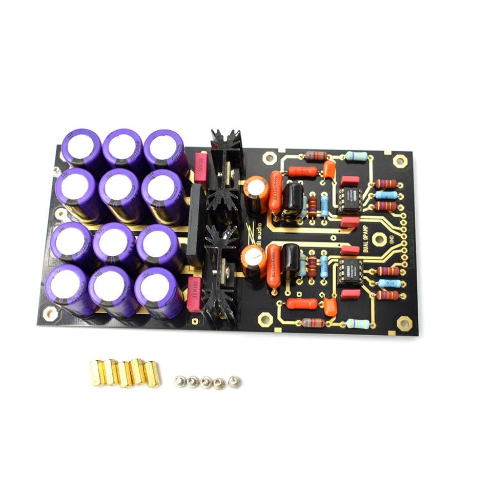 Carte amplificateur Lusya MM PCBA OPA2111KP platine vinyle HiFi Phono préamplificateur préamplificateur assemblé carte C2-003 - 3