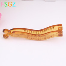 DIY Hair Band Jewelry  RENA CHRIS Banana Design Claps for hair PE Gold Brown Color GOOD QUALITY FASHION HAIR CLIP ON SALES цена 2017