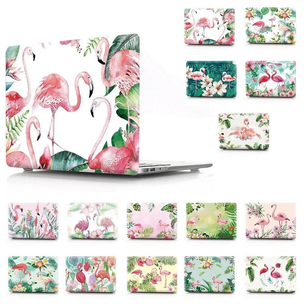 שליכט אקרילי פלמינגו הדפס נייד שרוול מחברת צבע Case עבור Macbook Air Retina Pro 11 12 13 15 עבור 13 15 בר Touch אינץ פרו חדש MacBook (1)