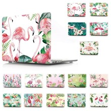 Flamingo Print Color Notebook Sleeve Laptop Case For Macbook Air Retina Pro 11 12 13 15 For MacBook New Pro 13 15 Inch Touch Bar цена и фото