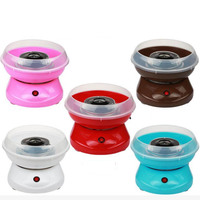 Electric DIY Sweet Cotton Candy Maker Machine MINI Portable Cotton Sugar Floss Girl Boy Gift Children