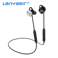 LANYASIR M2 IPX6 Rated Sweatproof Headphones Bluetooth 4 0 Wireless Sports Earphones Running Aptx Earbuds Stereo