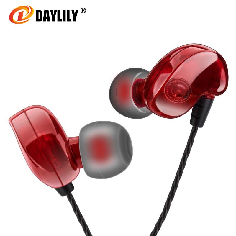 Daylily New headphones phone fashion fone de ouvido bass earphones sport headset Mp3 Dj music audifonos for Andrews/ios computer