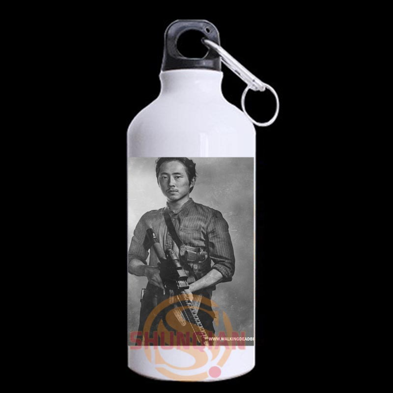 Custom The Walking Dead 1 Mug mental sports water bottles 13 5 OZ Unique design for