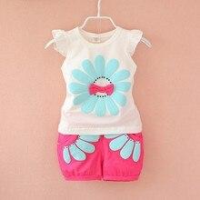 BibiCola summer girls clothing sets