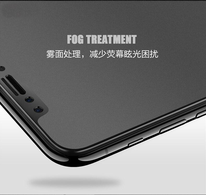 9H 2.5D matowy matowy pełna pokrywa szkło hartowane Screen Protector dla iPhone X XS MAX XR 10 8 7 6s 6 Plus 7Plus anty odciski palców 31
