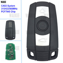 WALKLEE Remote Smart Key Suit for BMW CAS3 System 1/3/5/7 Series X5 X6 Z4 315LP 315MHz 433MHz 868MHz Optional PCF7945 Chip