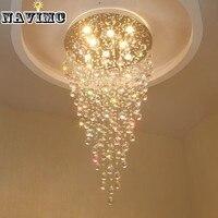 K9 LED хрустальная люстра светильник современные лампы для Гостиная Спальня коридоре внутренней отделки лестницы потолочный светильник