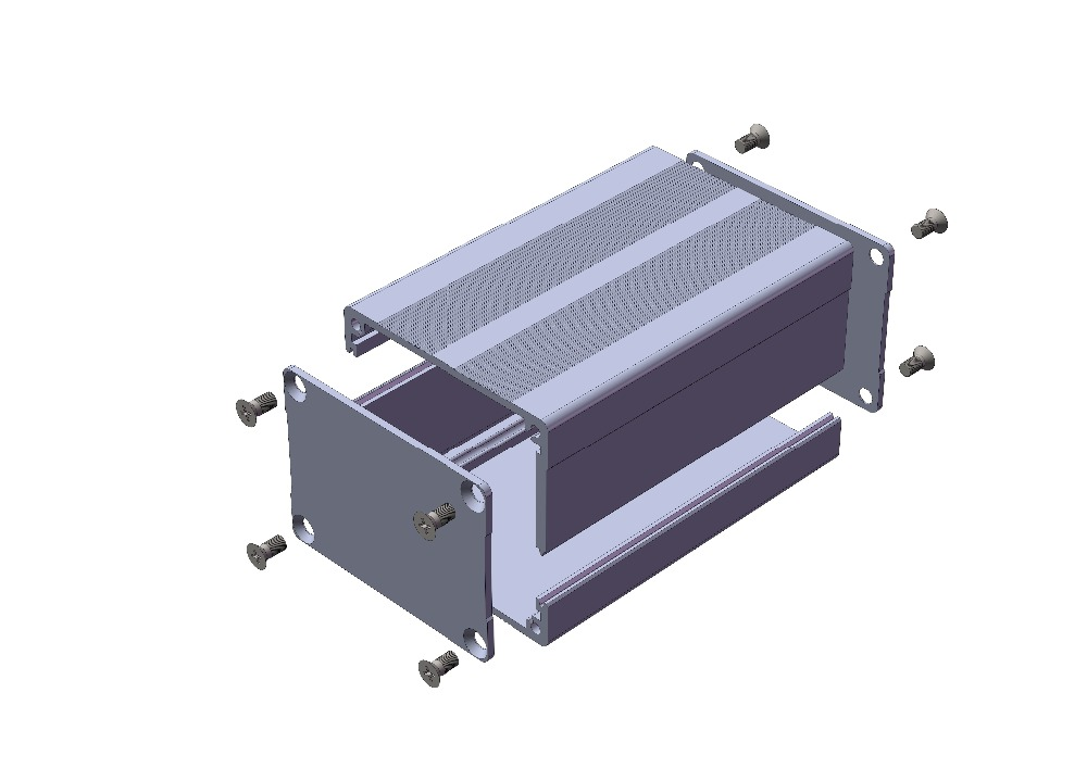 Ygk 038 52 38 120mm Wxh L Aluminum Extrusion Custom Enclosure Projects Diy In Connectors From Lights Lighting On Aliexpress