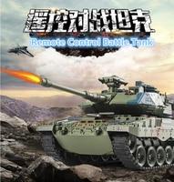 47 см 1:18 Масштаб Германии 2A6 России T90 основной боевой Р/У танки 789 2,4 г дыма и пуля Lanuch армия Битва модель военного танка игрушка