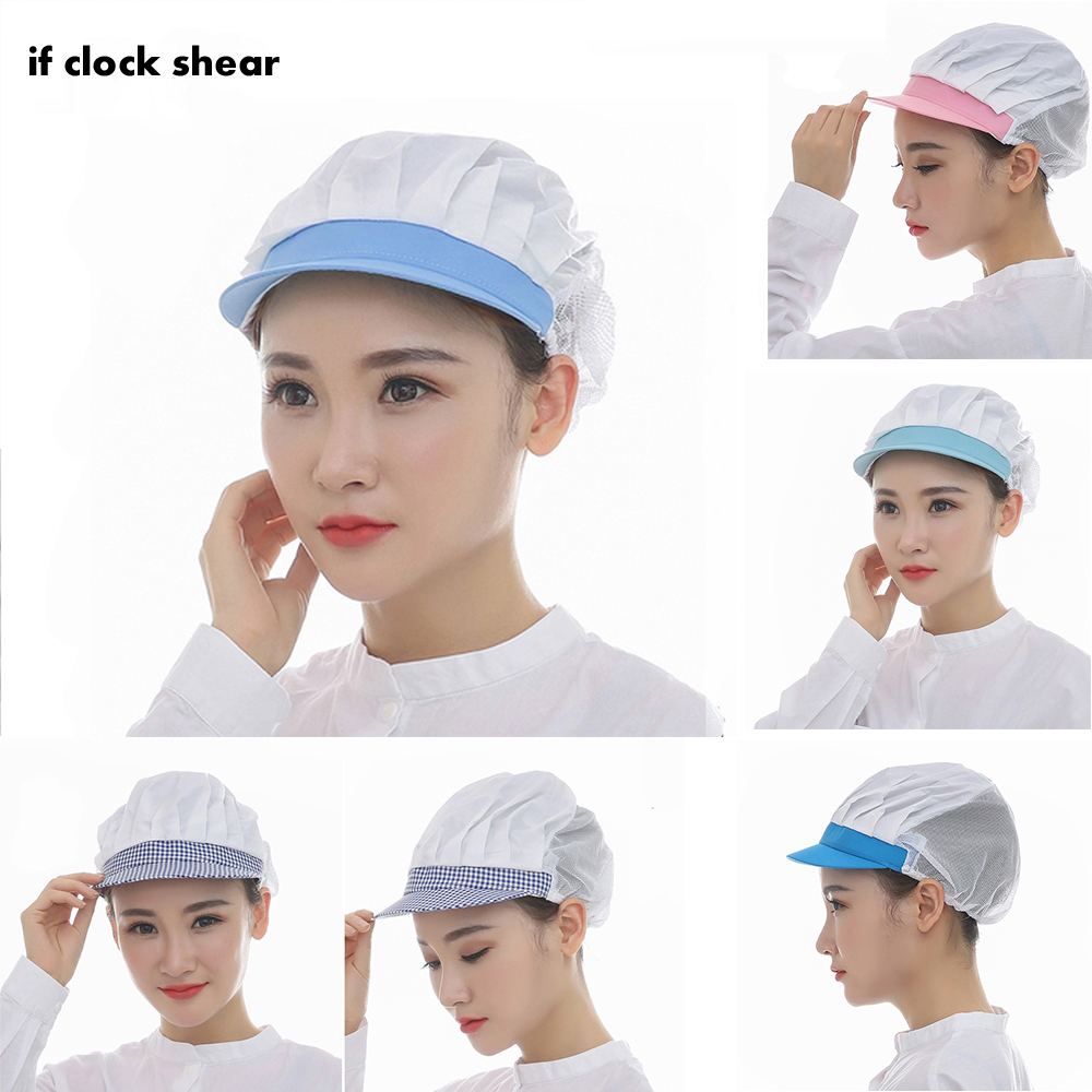 Cotton Breathable Surgical Scrub Hats New Medical Nurse Cap For Women Dentist Work Hats Breathable Nurse Cap Cotton Ladies Scrub