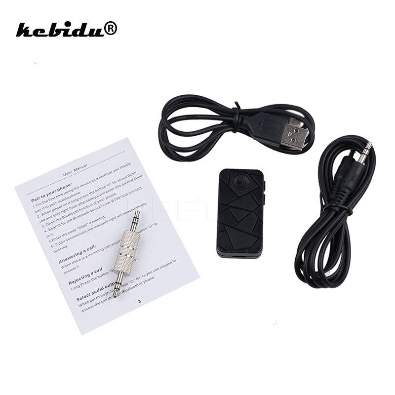 Funkadapter Liberal Kebidu 3,5mm Drahtlose Bluetooth Empfänger Bluetooth 4,1 Stereo Musik Empfänger Adapter Hands-free Car Kit Für Handy