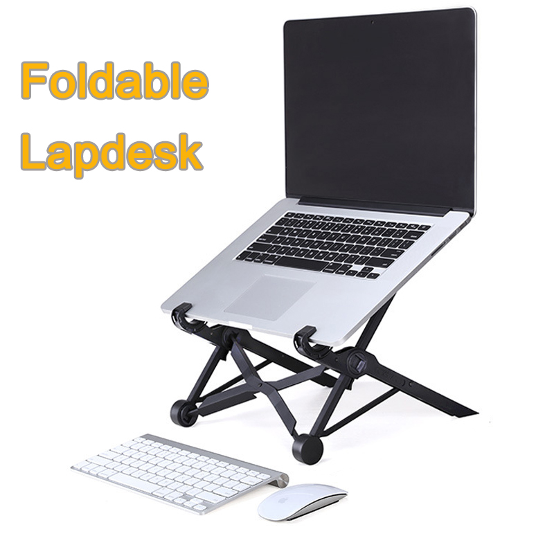 K2 Laptop Stand Folding Portable Adjustable Laptop Lapdesk Office Lapdesk Ergonomic Notebook Stand