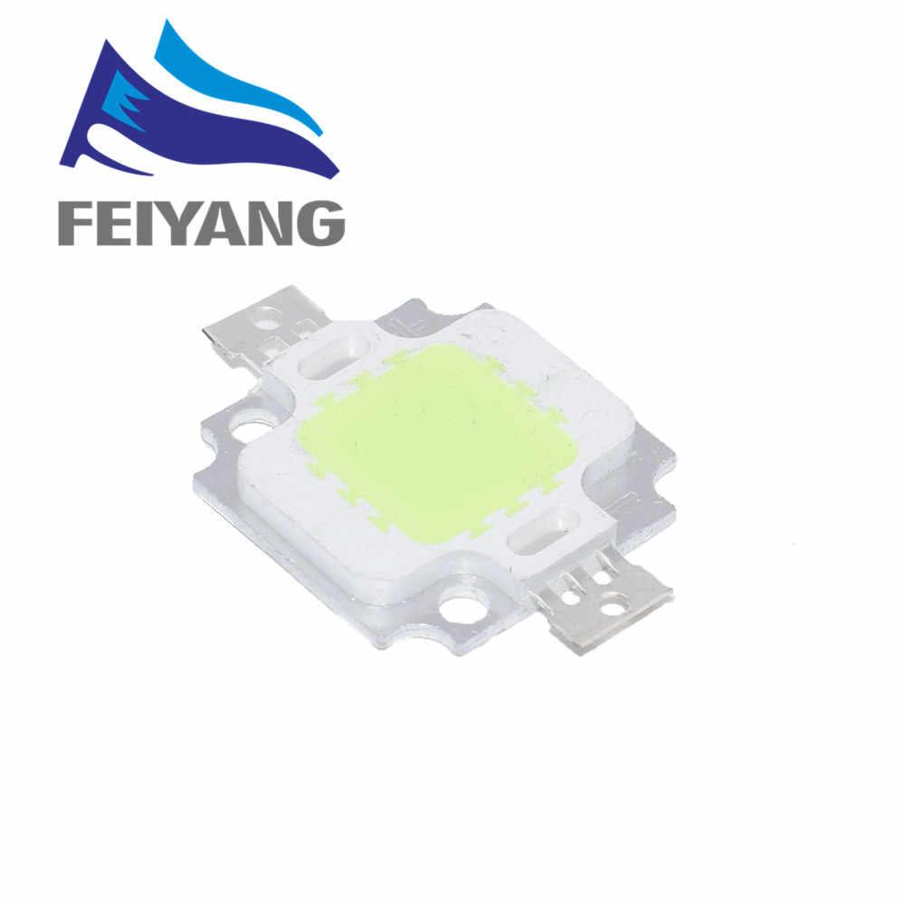 1 قطعة 10 واط LED المتكاملة عالية الطاقة LED الخرز 10 واط أبيض/أزرق/أحمر/أخضر/أصفر/دافئ أبيض/600mA 12.0 فولت 800-1000LM 24 * 40mil