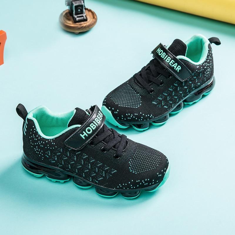 Original Kids Shoes For Girls Sneakers Boys Trainers Slip on Running Mesh Breathable Basket Tennis for Children HOBIBEAR H7635