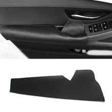 For BMW 5 Series F10 F18 2011- 2016 2017 Microfiber Leather Car Interior Driving Side Door Handle Armrest Panel Pull Trim Cover car door armrest panel microfiber leather for bmw 5 series f18 2010 2017