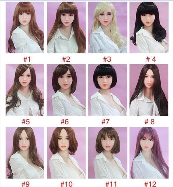 Hanidoll New sex doll wig for realistic lifelike sexy silicone sex love doll 135cm to 170cm height high quality hot sale