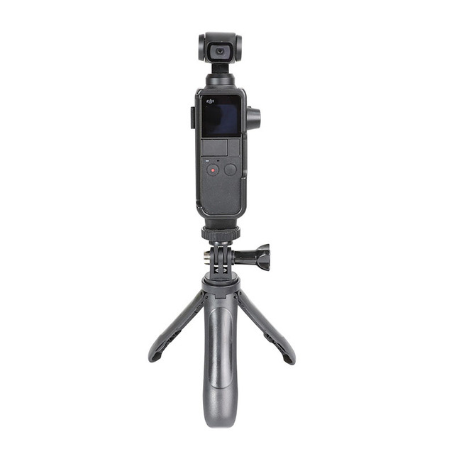 Frame Holder Mount For DJI Osmo Pocket camera Accessories External Microphone Expansion Fixed Bracket for Selfie stick Triopd