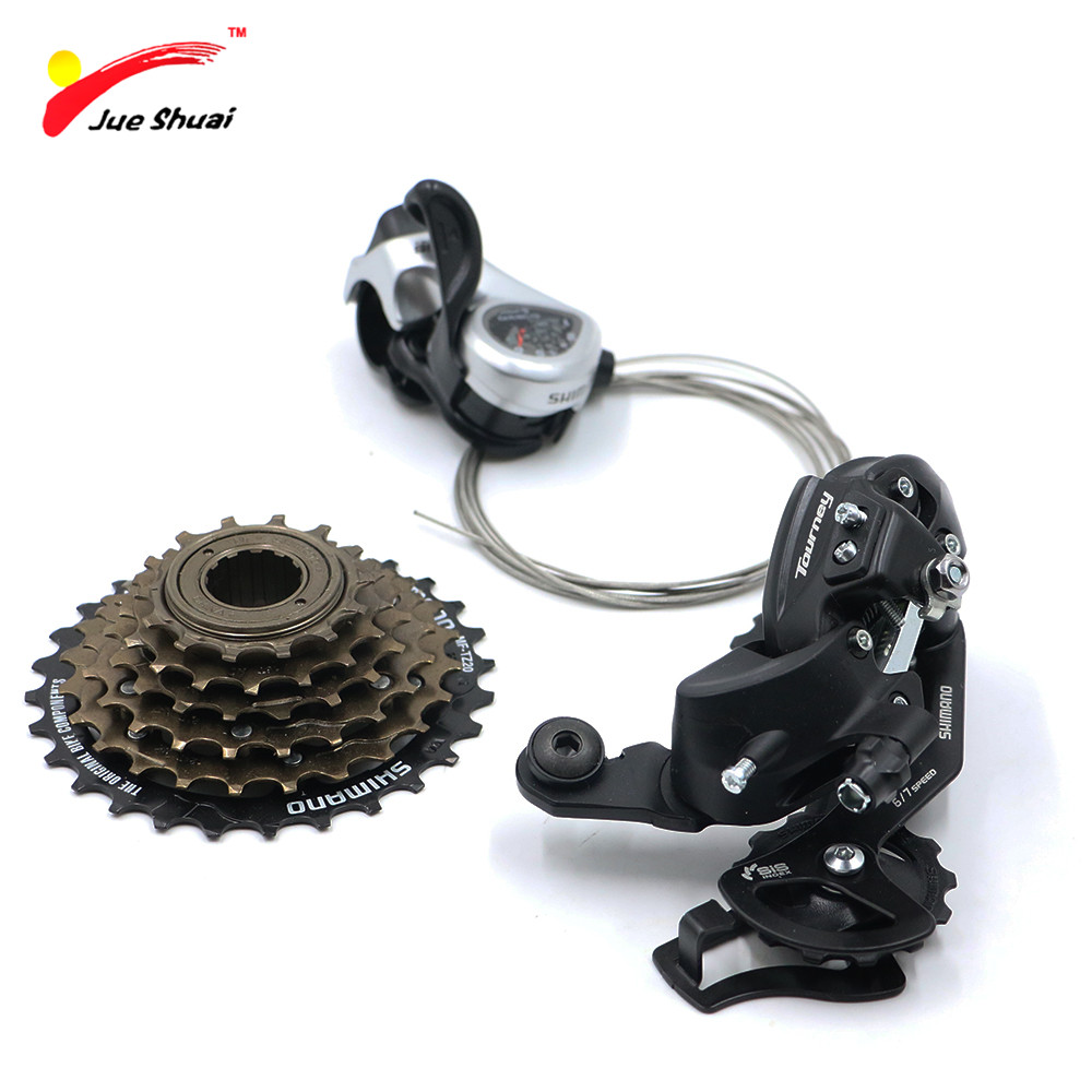 6/7 Speed groupset Mountain Bike Bicycle Rear Derailleur & Trigger Shifters & Cassette Cycling Accessaries