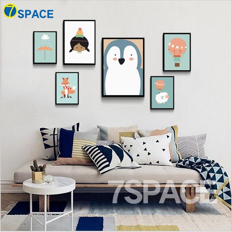 online kaufen großhandel cartoon bilder bäume aus china ... - Moderne Bilder Furs Wohnzimmer