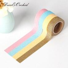 20colors Bright color Washi tape Multicolour solid color Paper Sequins washi tape DIY decorative masking adhesive label sticker