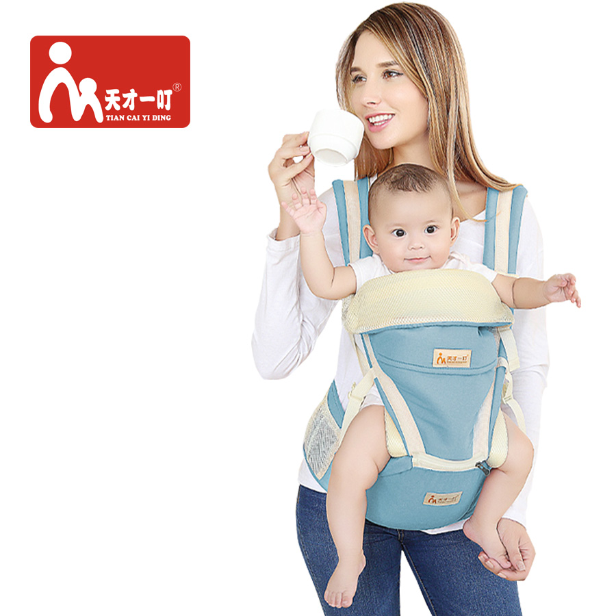 Ergonomic Baby Carrier Sling For Newborns Breathable Backpack Kangaroo All Carry Positions And Seasons Toddler Children Wrap