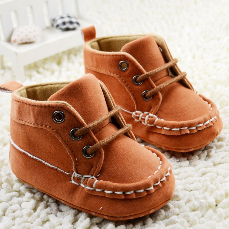 brand baby Boots baby moccasins baby brown Boots sport ...