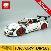 Lepin 20001 20001B Technic Series Race Car Model Building Kits Blocks Bricks Compatible 42056 Boys Gift