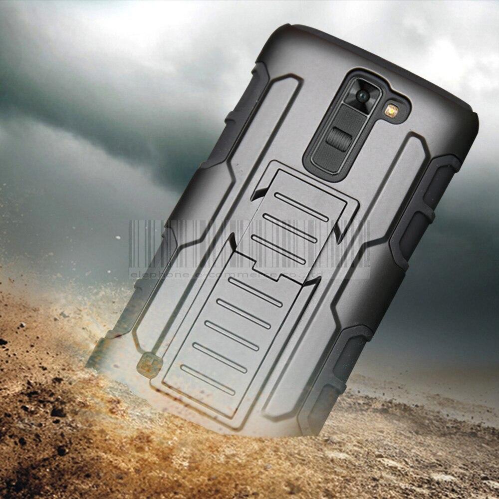 Hybrid Armor Belt Clip Holster Case Impact Shockproof Cover For LG K4/K5/K7/K8 K10 2017/V10/M2/Aristo LV3/V20/K20/XPower 2/G5/G6