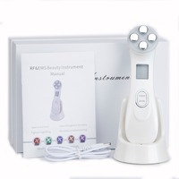 5 In 1 RF EMS Radio Frequency Electroporation No Needle Mesotherapy Beauty Device Instrument Skin Rejuvenation