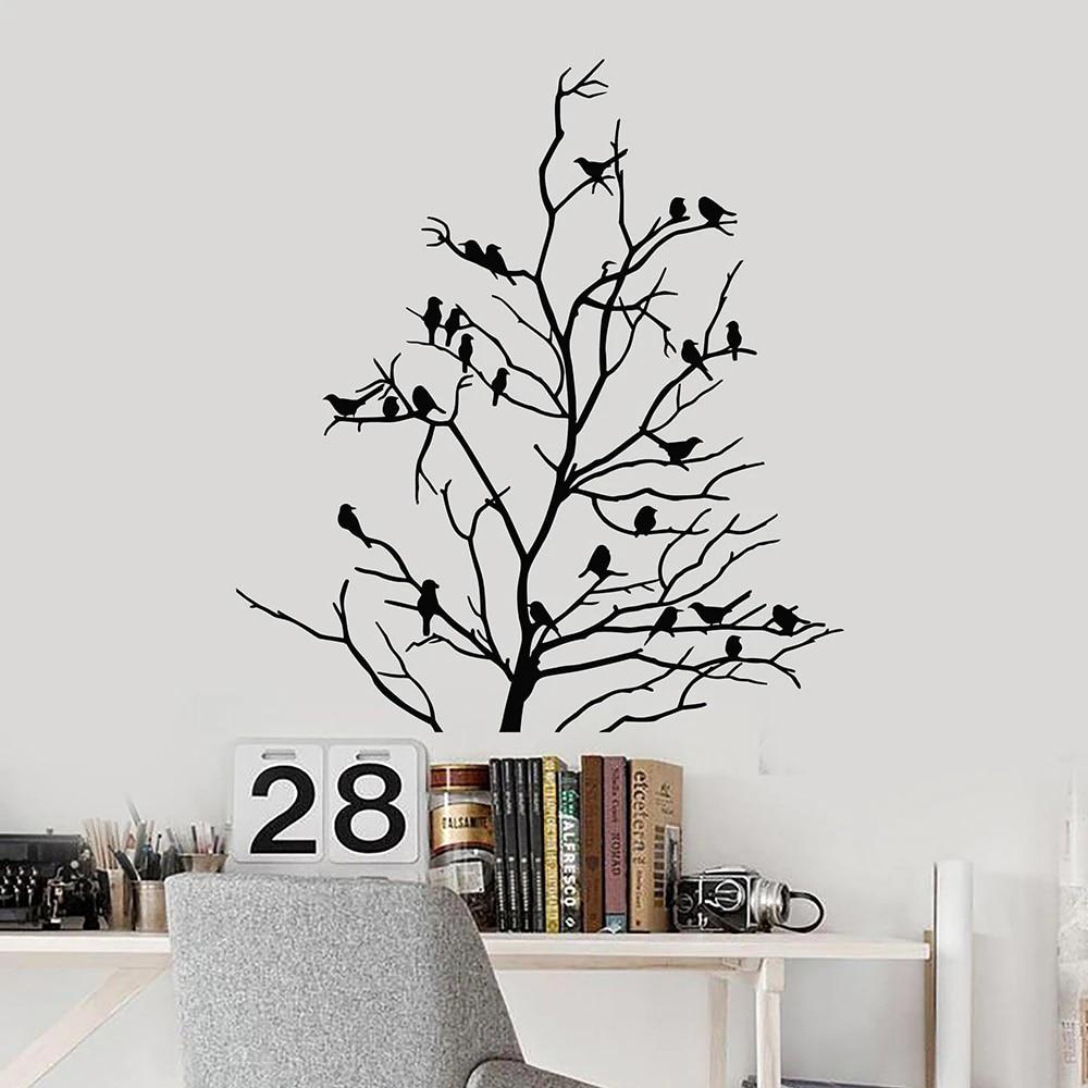 Bare Tree Vinyl Decal