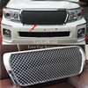 For 2012 2015 Toyota Land Cruiser 200 FC200 V6 Front Bumper Grille Grill Cover Protector Trims