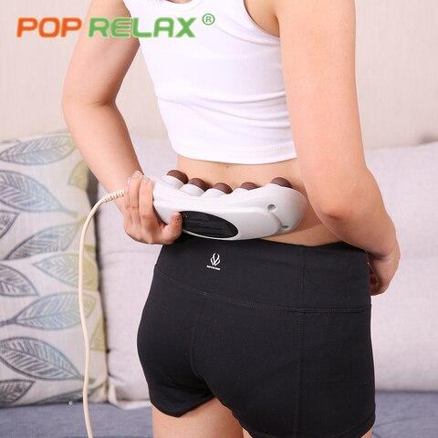 pop relaxar aquecimento infravermelho eletrico massageador turmalina projetor handheld corpo aquecedor alivio da dor produtos