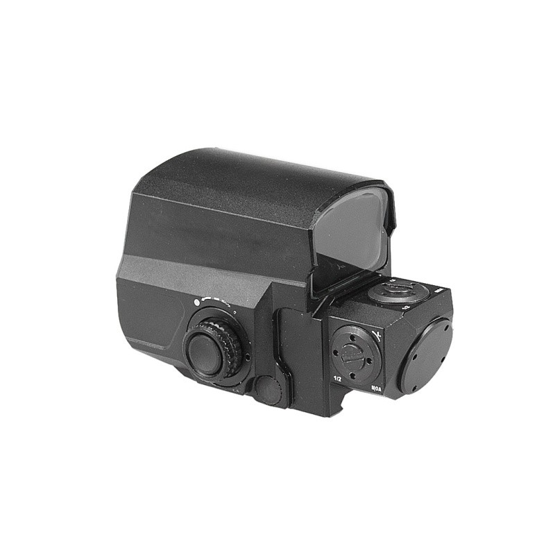 Tactical Red Dot Sight Rifle Scope Hunting Scopes Reflex Sight With 20mm Rail Mount Holographic Sight hunting equipment trijicon srs 1x38 red dot sight scope tactical hunting scopes reflex sight solar power system with qd mount optics rifle scope