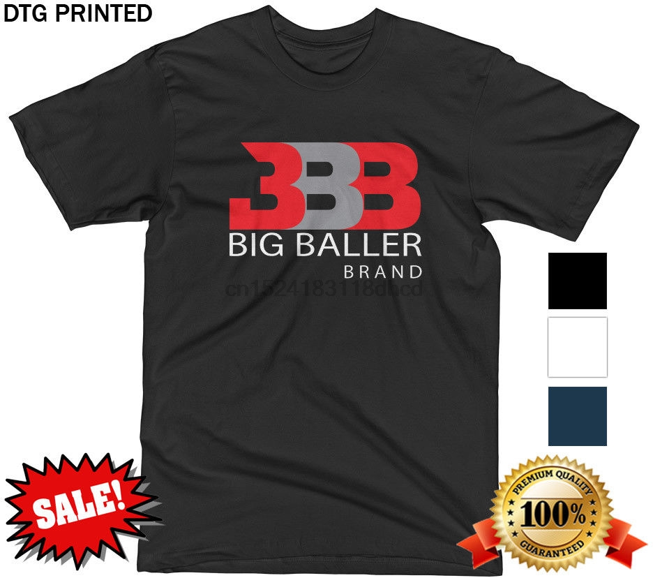 best website 7aaed bc7de US $11.95 8% OFF|BBB T SHIRT LONZO LAVAR MELO LA LAKERS Z02 WHITE BLACK  NAVY MENS S XXL NEW!-in T-Shirts from Men's Clothing on Aliexpress.com | ...