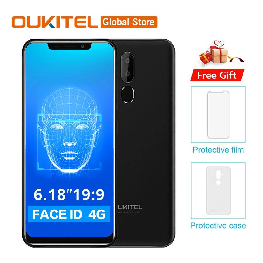 OUKITEL C12 Pro 4G 6 18 19 9 Android 8 1 Face ID 3300mAh MT6739 Quad