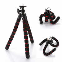 Support universel de trépied de Mini caméra Portable Flexible de poulpe DV pour le support de téléphone de Canon Nikon