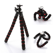 Universal Mini Octopus Flexível Suporte Do Telefone Tripé para Canon Nikon Câmera DV Portátil