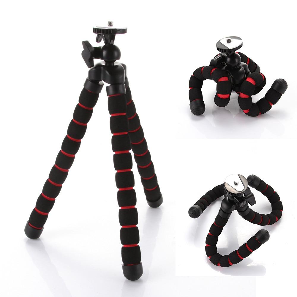 Universal Mini Octopus Flexible Portable Camera DV Tripod Stand for Canon Nikon Phone Holder цена