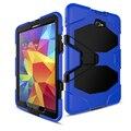 CaAmor Heavy Duty чехол Для Samsung Galaxy Tab A 10.1 2016 T585 T580 Tablet case GLF Мягкого Силикона + PC Задняя Крышка Подставка случае