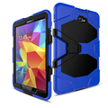 CaAmor Heavy Duty case For Samsung Galaxy Tab A 10.1 2016 T585 T580 Tablet case GLF Soft Silicone +PC Back Cover Kickstand Case