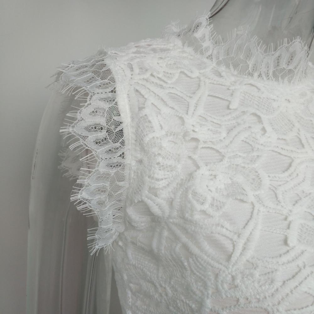 2018 Elegant Flower Maxi Lace Dress 5
