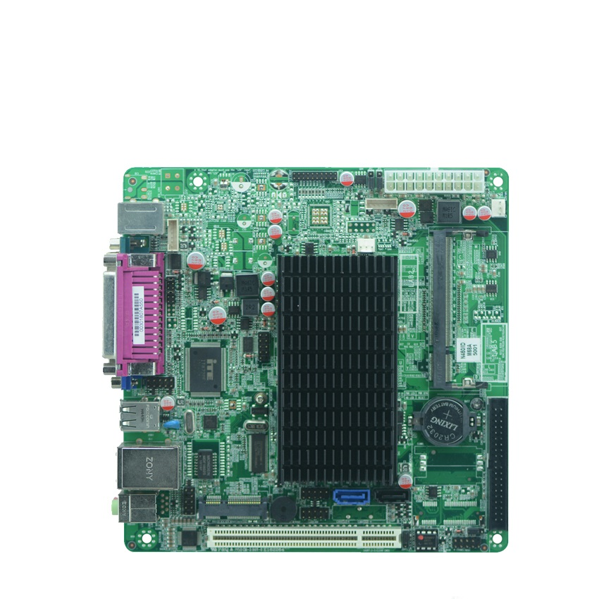 Industrial embedded mini_itx motherboard  N455/1.66GHz single core CPU fanless motherboard vectra motherboard industrial rocky 4786ev