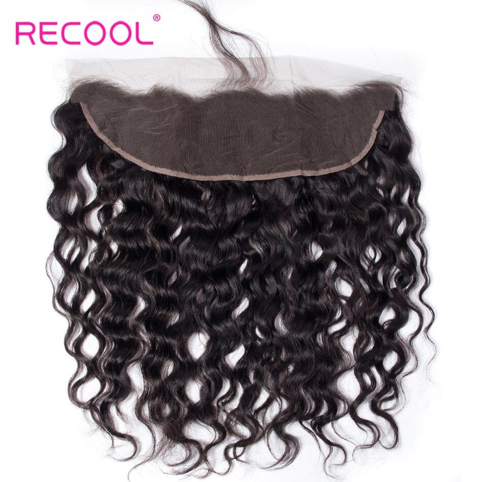 HTB1vWj.nsnI8KJjSsziq6z8QpXaF Recool Hair Brazilian Water Wave Bundles With Closure Remy Hair Lace Frontal With Bundles Deal Human Hair Bundles With Frontal