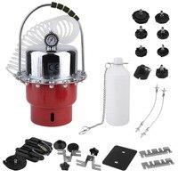 Car Brake Fluid Exchanger Auto Repair Tools Pneumatic Pressure Bleeder Set Professional Brake Clutch System Device