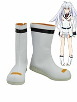 Japan anime PLASTIC MEMORIES Cosplay Shoes Error Isla Anime Party Boots Tailor Made