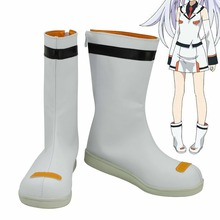 Japan anime PLASTIC MEMORIES Cosplay Shoes Error Isla  Anime Party Boots Tailor-Made