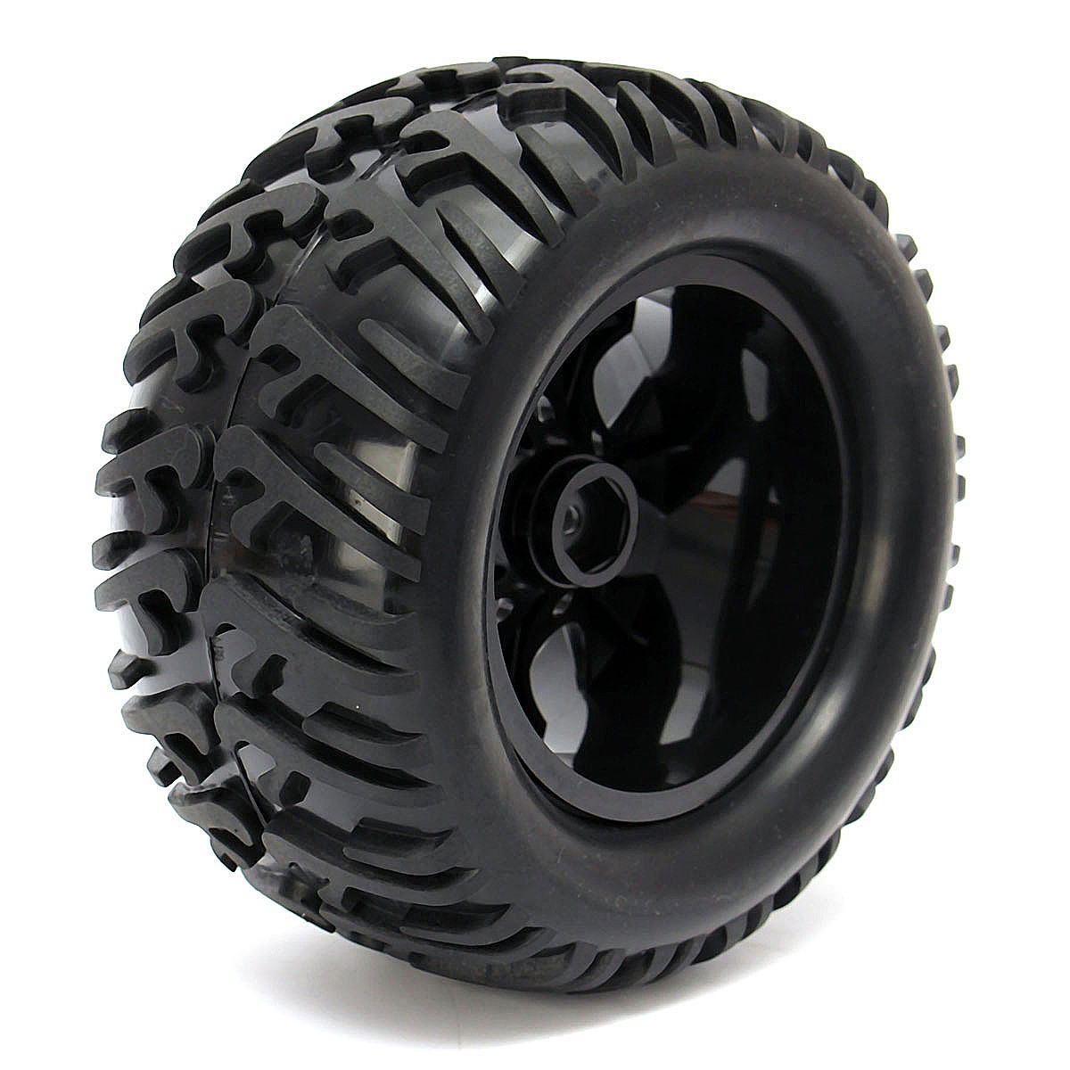 4PCS 12mm Racing Wheel Rim & Tires Redcat HSP 1:10 Monster truck RC On-Road Car Parts 12mm Hub 88005 Toys Accesseries hpu6900pic 433 ib 2u ipc card 02027 12030 80 100% test good quality